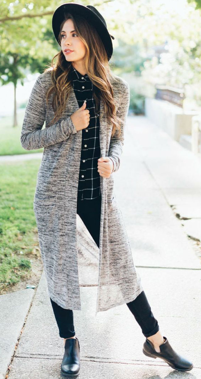 How to style long sweaters