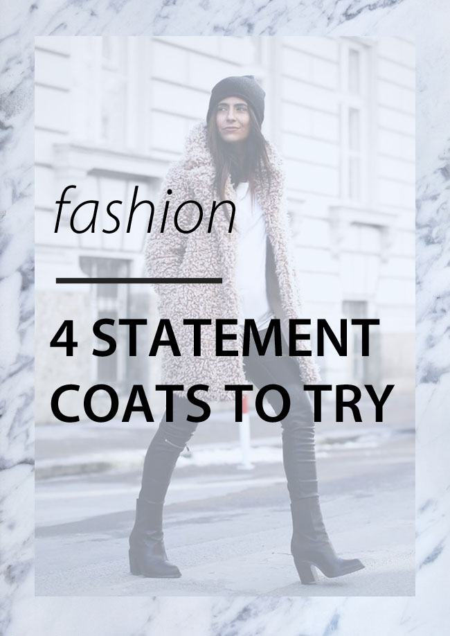 Statement coats you need to try