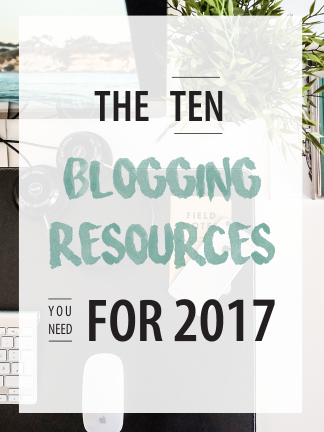The blogging resources you need