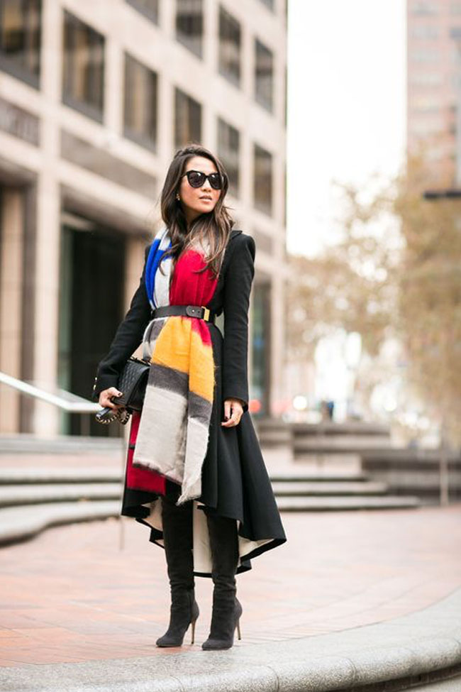 How to Wear a Blanket Scarf: 5 Different Looks