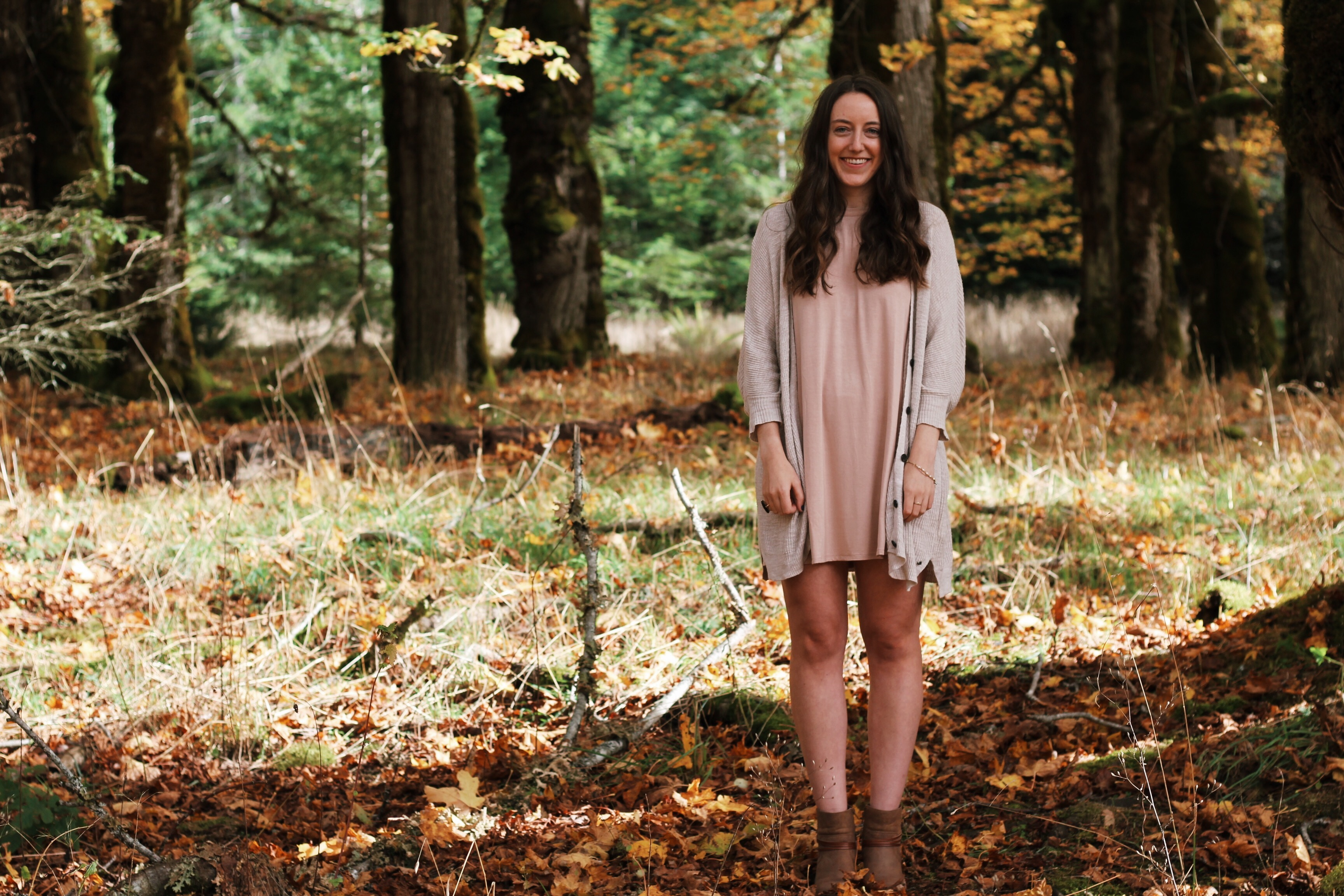fall style with a Tobi dress