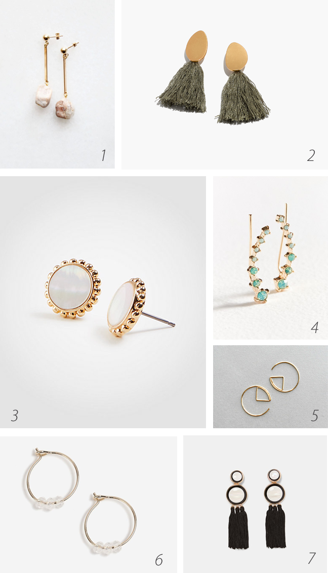 Back to earrings: updated styles to inspire you