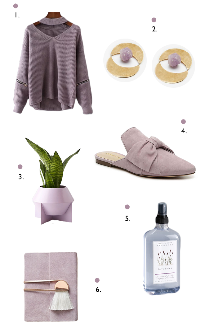 Lavender color inspiration for life and style