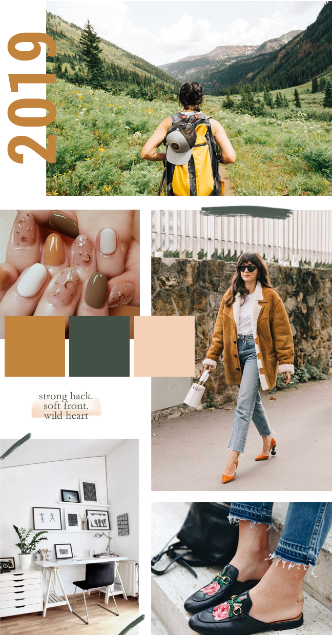 2019 Mood Board - Setting the tone for the new year