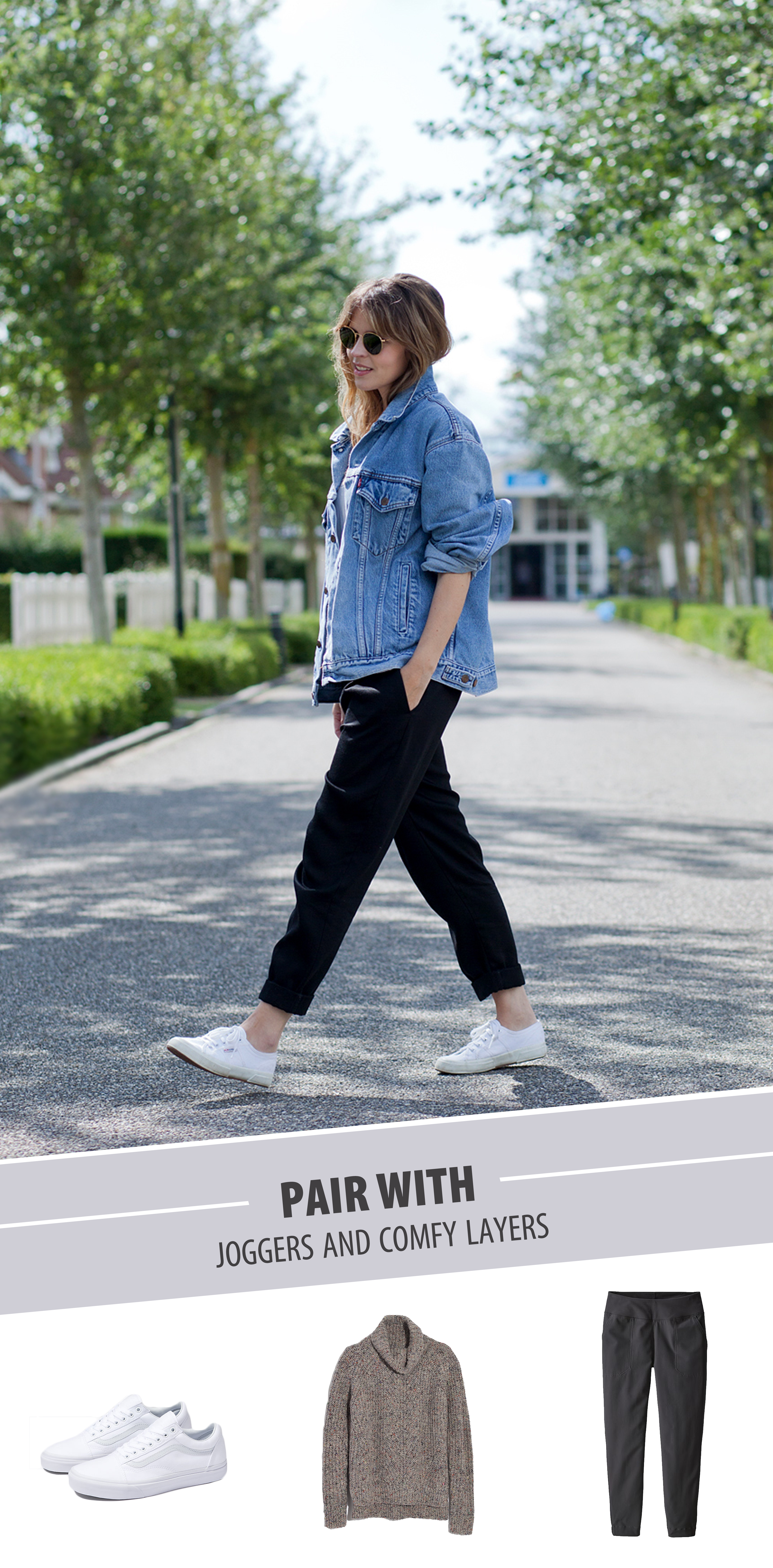 how to style oversized denim