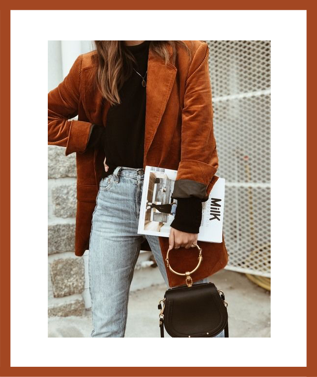 burnt orange spring inspiration