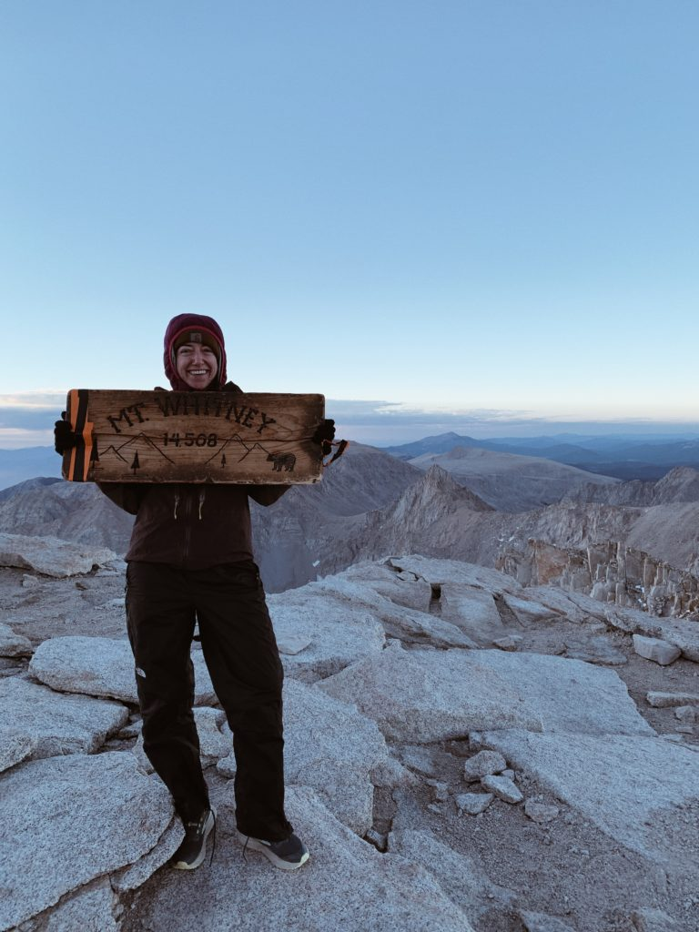 Mt. Whitney, Forester Pass, and the Bear Story